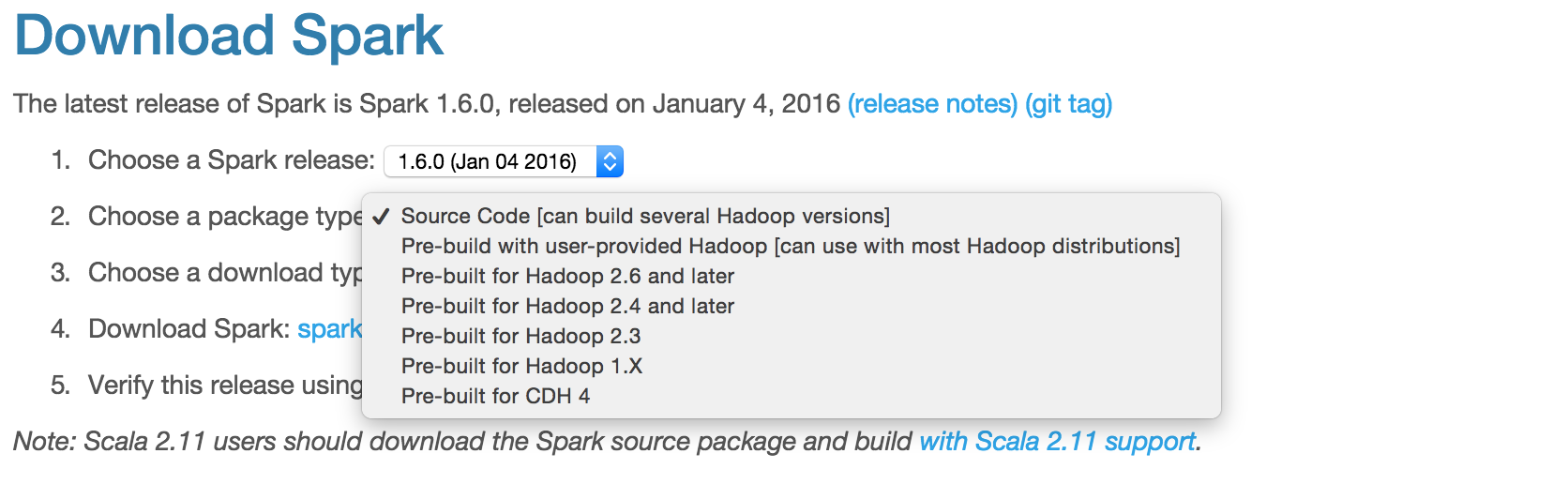 Getting Started With Apache Spark 1 6